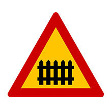 Greece_Traffic_Sign_Level_Crossing_With_Gates