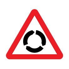 UK Traffic Sign Roundabout