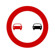 Greece_Traffic_Sign_No_Overtaking