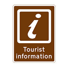 UK Traffic Sign Tourist Information Point