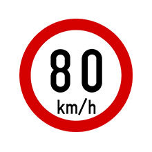 Ireland_Traffic_Sign_Max_Speed_Limit_80_km_h