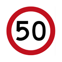 Australia Traffic Sign Speed Limit