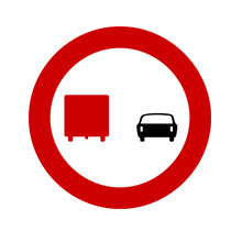 Greece_Traffic_Sign_No_Overtaking_by_Lorries