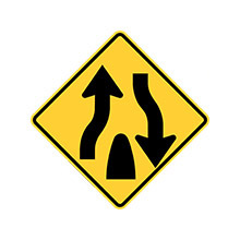 Thailand_Traffic_Sign_Divided_Road_Ends