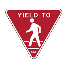 United_States_of_ America_Traffic_Sign__Yield_to_Pedestrians