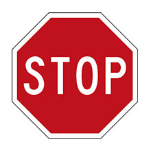 New Zealand Traffic Sign Stop