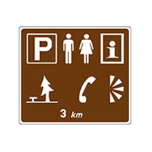 Ireland_Traffic_Sign_Advance_Sign_for_Facilities_in_Lay_bay