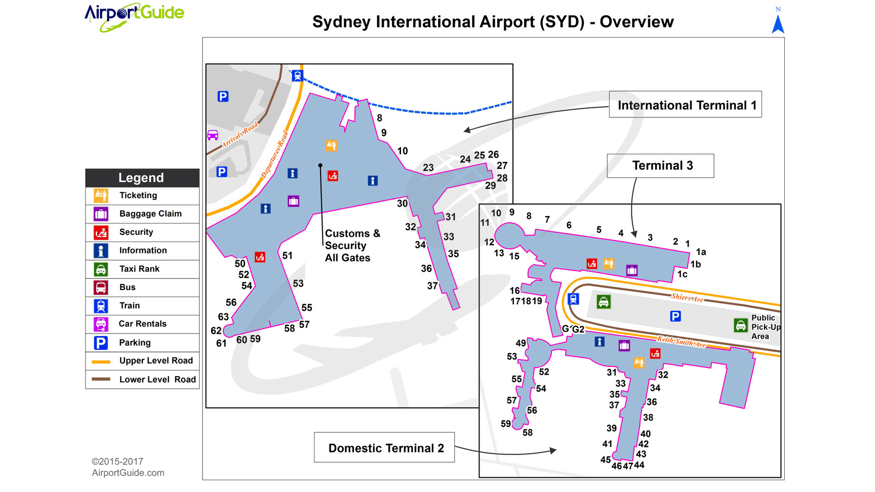 Sydney International Airport Overview