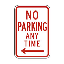 United_States_of_ America_Traffic_Sign_No_Parking