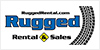 RUGGED RENTAL & SALES logo