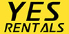 Yes Rentals logo